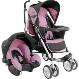Carrinho Bebê Kiddo + Bebê Conforto
