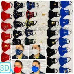 Máscaras 3D