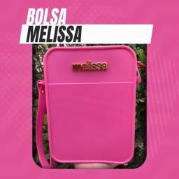 Bolsa (Leia a Descrição) Bolsa Melissa Lateral Nova Várias Cores