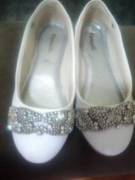 Sapato branco infantil Pampili