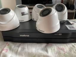 Kit Câmera Intelbras Full HD com DVR