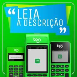 Maquininha de cartão Ton - Modelos T1 - T2 - T 3