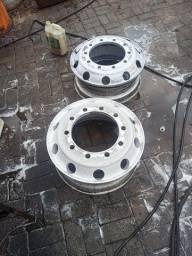 Duas rodas de alumínio 295 275