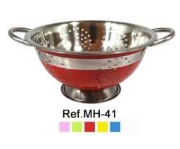 Escorredor de macarrão inox color