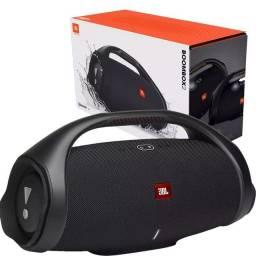 Caixa de Som Portátil JBL Boombox 2 com Bluetooth, IPX7, PartyBoost - 80W Preta
