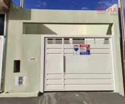 Título do anúncio: Casa com 2 dormitórios à venda, 110 m² por R$ 280.000,00 - Jardim Cambuí - Botucatu/SP