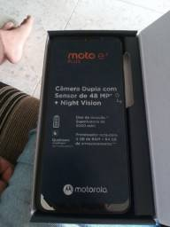 Moto G e7plus novo na caixa ano de garantia nota fiscal