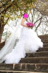 Título do anúncio: Vestido de noiva. Danielle Benicio Alta costura.