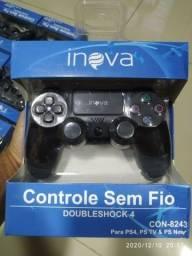 Controle Playstation 4 Inova Novo Ps4