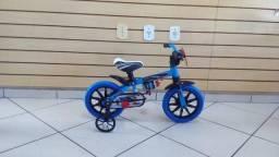Título do anúncio: Bicicleta infantil Aro 12 Nathor MASculina
