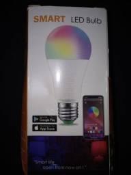 Lampada Led RGB Nova / controlada por controle