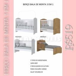 BERÇO BERÇO BERÇO COM 3 REGULAGENS DE ALTURA