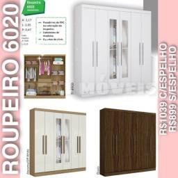 GUARDA-ROUPA 6020 DE CASAL (06 portas)