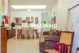 Apartamento à venda com 3 dormitórios em Laranjeiras, Rio de janeiro cod:BTAP30245