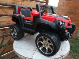 Carrinho eletrico jeep 12v pronta entrega