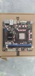 Placa mãe Minix H55-HD 1156 + CPU i3 530 (LEIA A DESCRIÇÃO)