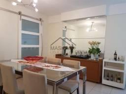 Apartamento com 3 dormitórios para alugar, 135 m² por R$ 2.600,00 - Praia da Costa - Vila