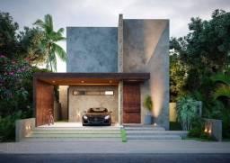 Casa de condomínio para venda possui 204 metros quadrados com 4 suítes.