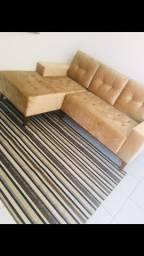 Semi novo- Sofa 3 lugares