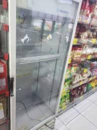 Freezer vertical Metallica 398litros