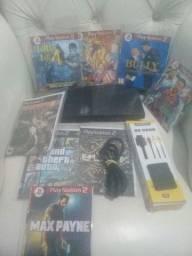PlayStation 2 destravado barato