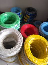 Sábado estamos de plantão até meio dia. Compre fios e cabos flexíveis. 1,5 a 6,0mm