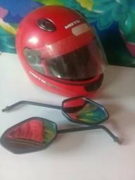 Óculos e capacete 40
