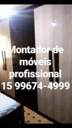 15 99674-4999 Montador de móveis profissional disponível