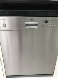 Máquina de Lavar Louça Bosch inox Intelligent automática