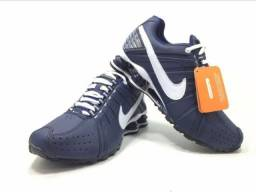 84dcefd567b Tênis Nike Shox Júnior 4 Molas Masculino ( LeveShoes com br) zap(37)