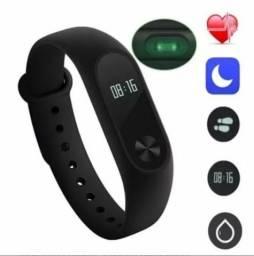 766b27a77da Bracelete inteligente M2 Smartband Pulseira Relógio Inteligente (ENTREGO OU  FACILITO)