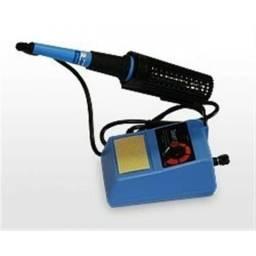 Estação de solda ferro de solda 50w com controle temperatura ajustavel 220v mxt
