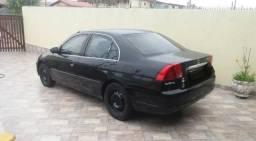 Somente venda, Honda Civic automático - 2002