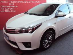 Toyota Corolla XEI 2.0 Flex (Aut./CVT) - Única Dona - Placa A - 2016