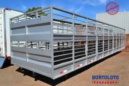 Carroceria para transporte de Suínos - Porcadeira - 2000
