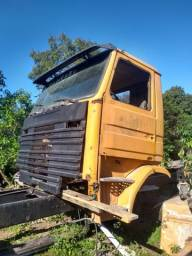 Cabine Scania 113 frontal barbada