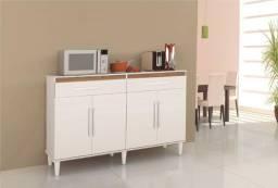 Balcao Lux p/ cozinha 04 portas 02 gavetas = Frete grátis!
