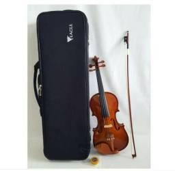 Violino Eagle 4/4 Ve441 + Case, Breu E Arco