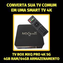 Transforme sua Tv normal em uma Smart TV 4k Tv Box