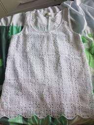 Blusa de renda Hering