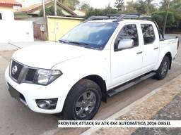 Frontier Nissan 4x4 attack completa ano 2016 Diesel - 2016