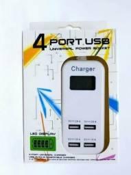 Carregador para celular 4 USB