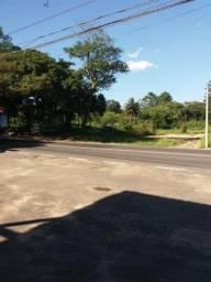 Área com 30, 60, 80 metro de frente para o asfalto entra três meninas e Gedeon leite