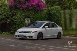 Honda Civic 2008 branco (aceito Saveiro e Montana)