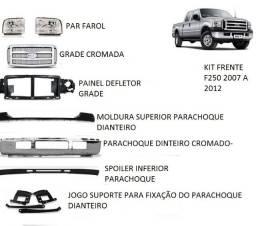 Kit frente f250 ano 2007-2008-2009 a 2012