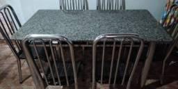 Mesa + 6 Cadeiras - Entrego - Aceito cartao