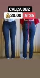 Desapego - Calças Jeans Dbz - Somente M / 36 - Entrego