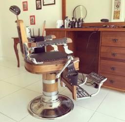 Cadeira de barbeiro- antiguidade