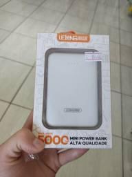 Mini carregador portátil 5000 mAh