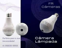 Câmera lâmpada IP Wi-Fi iCSee HD nova